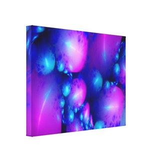 Bubble World Stretched Canvas Prints