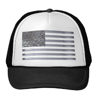 Bubble Wrap and Duct Tape Flag Cap