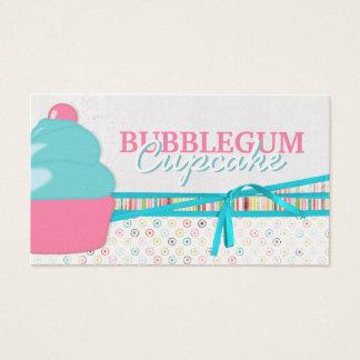 Bubblegum Cupcake Business Cards
