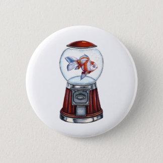 BubbleGum Goldfish 6 Cm Round Badge