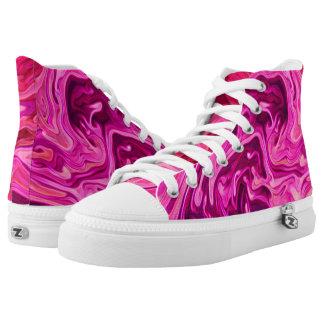 """Bubblegum Ink!"" High Top Shoes"