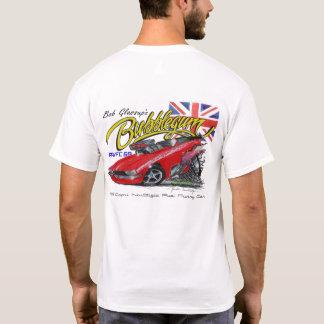 Bubblegum Nostalgia Fuel Funny Car T-shirt - white