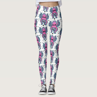 Bubblegum Octopus Leggings