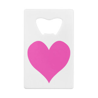 Bubblegum Pink Cute Heart Shape