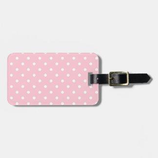 Bubblegum Pink Luggage Tag