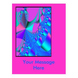 Bubblegum Postcard: Template Postcard