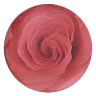 Bubblegum Rose Plate