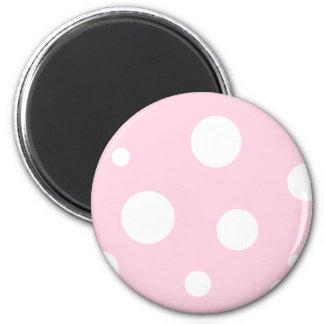 Bubbles 6 Cm Round Magnet