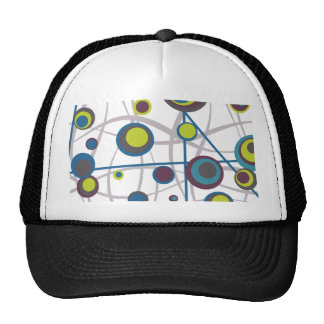 Bubbles and Lines Hat