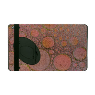Bubbles art ipad cover with kickstand