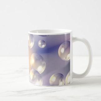Bubbles Basic White Mug
