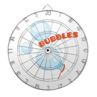 Bubbles Bubbles Dartboard With Darts