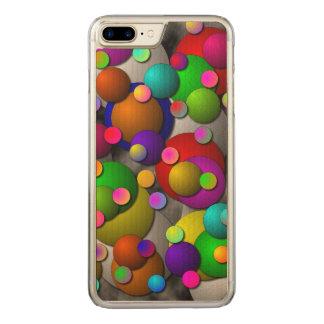 Bubbles Carved iPhone 8 Plus/7 Plus Case