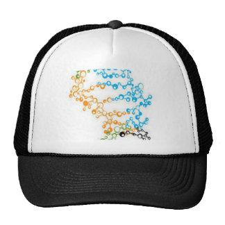 Bubbles design trucker hat