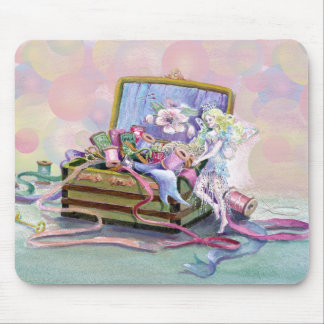 BUBBLES & FAERIE by SHARON SHARPE Mouse Mat