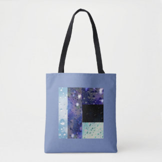 Bubbles image tote bag