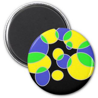 bubbles fridge magnets