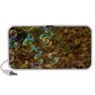 Bubbles on a Fall Day Mp3 Speaker