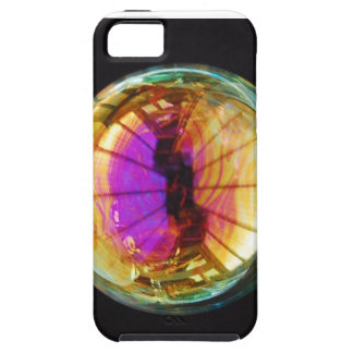 Bubbles on Black Tough iPhone 5 Case
