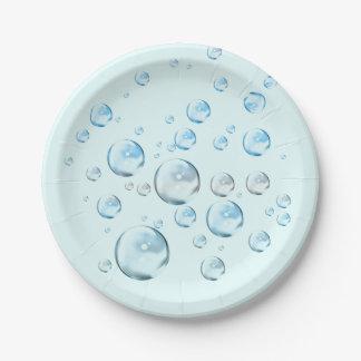 Bubbles Paper Plate