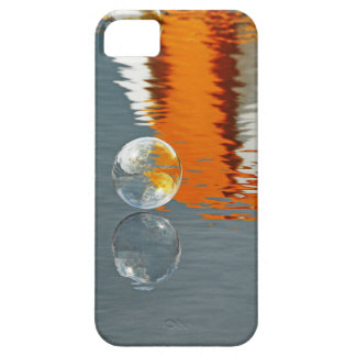 Bubbles Reflecting in Water iPhone 5 Cases