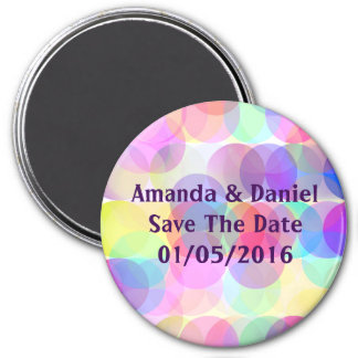 Bubbles - Save The Date Magnet