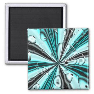 Bubbles Square Magnet