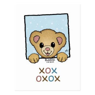 Bubbles the Bear (Pathway Pet) Postcard