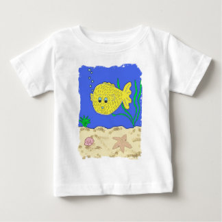 Bubbles the Blowfish Baby T-Shirt