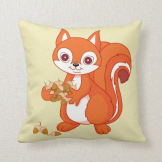 Bubbles the Helpful Squirrel Cushion