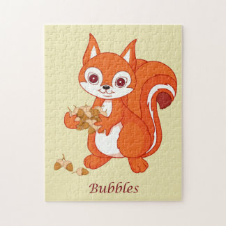 Bubbles the Helpful Squirrel Jigsaw Puzzle