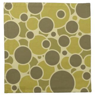 Bubblicious cloth napkins