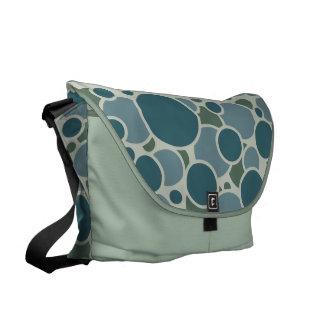 Bubblicious custom messenger bag