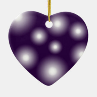bubbly and purple christmas ornament