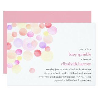 Bubbly | Baby Sprinkle Invitation