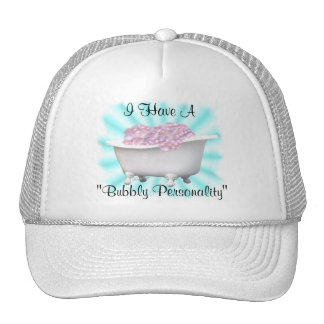 """""""Bubbly Personality-customize Cap"""