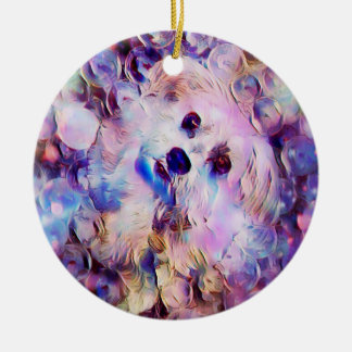 Bubbly Personality Round Ornament