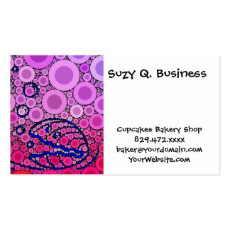 Bubbly Under the Sea Clam Shell Mosaic Art Pack Of Standard Business Cards