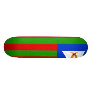 Bubi tribal, Equatorial Guinea Skateboard