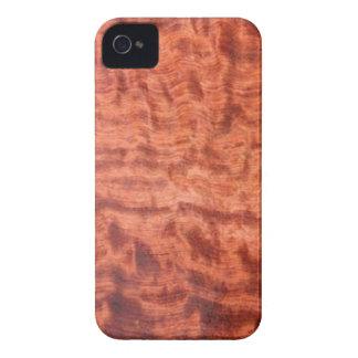 bubinga (faux) Wood Grain Finish iPhone 4 Case-Mate Cases