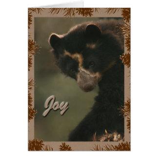 Bubu wishes Joy to all! Greeting Card
