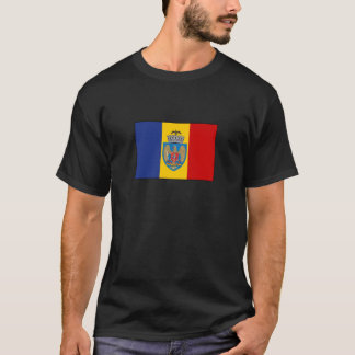Bucarest Romania Flag T-Shirt