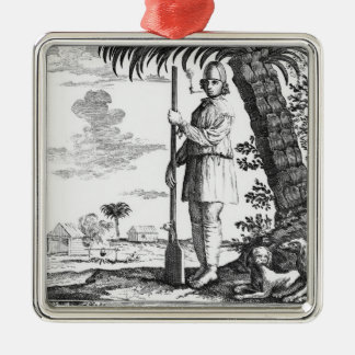 Buccaneer in the West Indies, 1686 Christmas Ornament