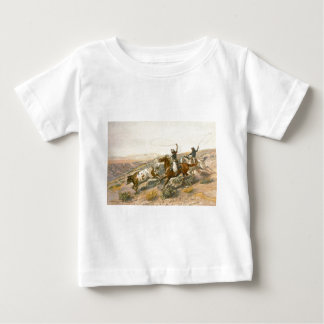 Buccaroos by Charles Marion Russell Baby T-Shirt
