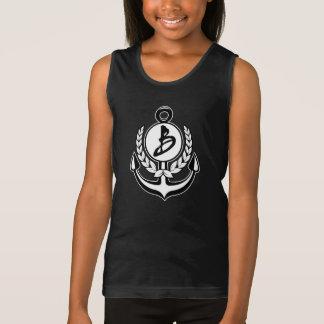 Buccelli Anchor B Logo Tank Top