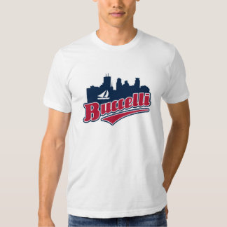 Buccelli City of Lakes T Shirts