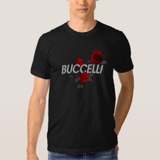Buccelli Roses Tee Shirts