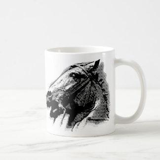 Bucephalus Basic White Mug