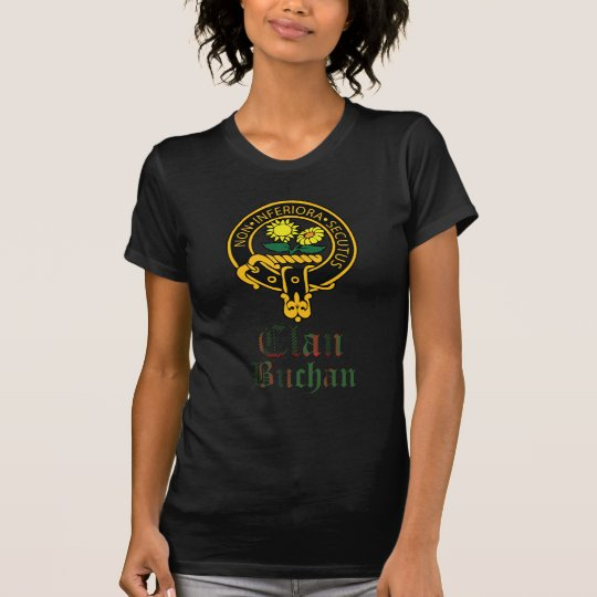 Buchan Scottish Crest Tartan Clan Name Clothes T-Shirt