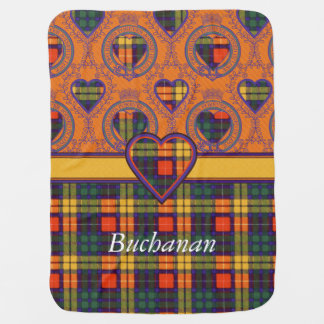 Buchanan clan Plaid Scottish tartan Baby Blanket